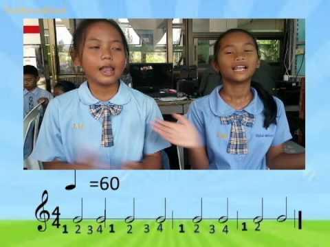 โครงงานดนตรี ป 6 โรงเรียนวุฒินันท์