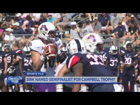 Thomas Sirk Named Semifinalist For William V. Campbell Trophy