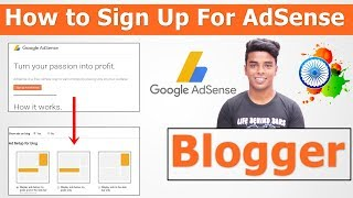 How to Link Blogger to Google AdSense Step by Step In Hindi - 2018