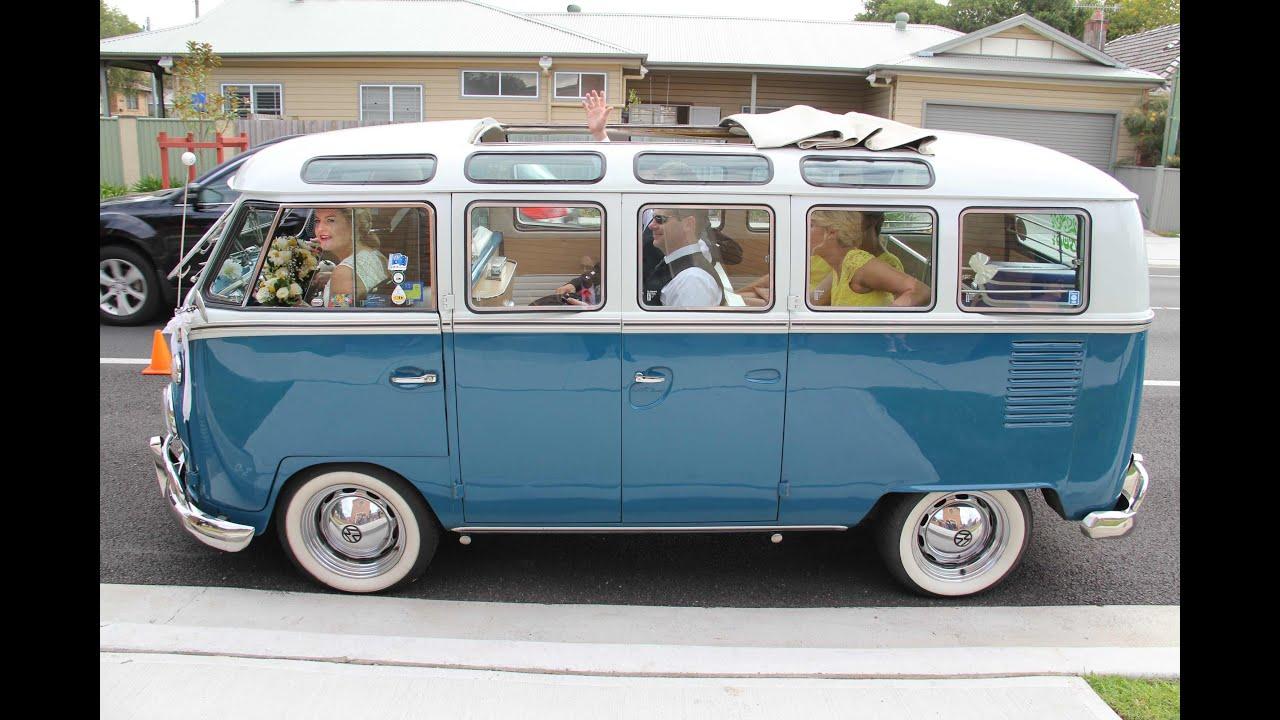susi and linclon 39 s wedding transport vw combi van youtube. Black Bedroom Furniture Sets. Home Design Ideas