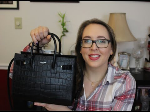 28485f7dfac Saint Laurent Baby Sac de Jour Review | What's in my Bag? - YouTube