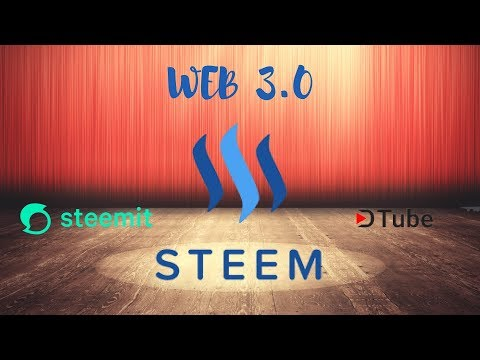 Обзор перспективной криптовалюты STEEM (Стим). Web 3.0 проекты Steemit и Dtube.