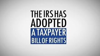 The Taxpayer Bill of Rights(Read more about the Taxpayer Bill of Rights here: http://taxpayeradvocate.irs.gov/About-TAS/Taxpayer-Rights Since assuming her position in 2001, National ..., 2014-09-04T14:39:33.000Z)