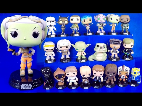 Star Wars 21 Funko Pop Figures Unboxing and Review Funko Pop Unboxing Pop Vinyl Collection Video