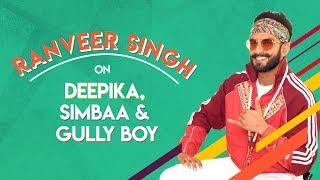 Ranveer Singh Talks About Deepika Padukone, Simmba Success And Gully Boy | MissMalini