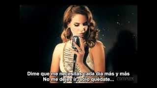 Never Let Me Go - Lana del Rey (subtitulada)