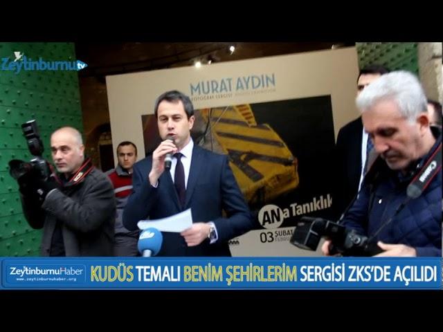 Zeytinburnu Belediye Başkanı Murat Aydın İkinci Sergisini Açtı