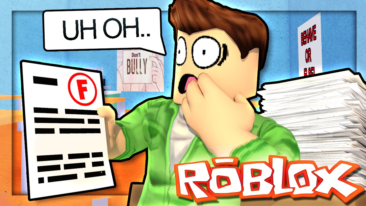 The Pals Roblox High School Roblox High School Cheating On The Test Roblox Roleplay 10 Youtube