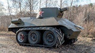 как сделать мини танк