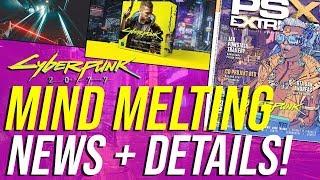 Cyberpunk 2077 News - MASSIVE Gameplay Details, New Game+, Nanowires, Priscilla's Concert & MORE!