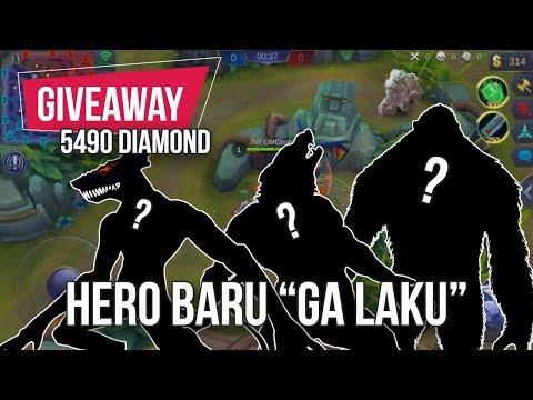download 5 HERO BARU MOBILE LEGENDS YANG NGGAK LAKU DIMAININ [15 PEMENANG + GIVEAWAY 5490 DIAMOND]