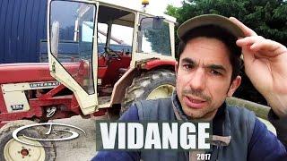 Vidange de l'huile moteur d'un tracteur - 2017