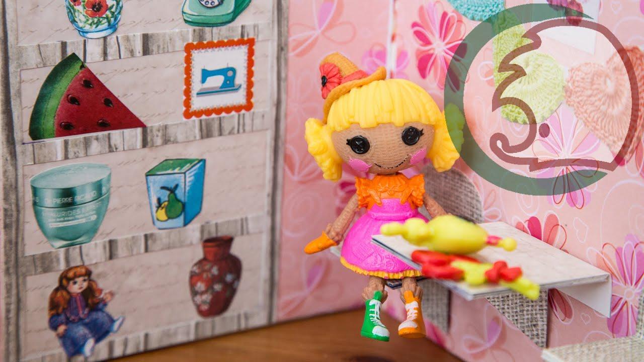 197 Как сделать мебель и дом для кукол