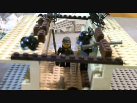How To Build A Lego Wwi Trench Youtube