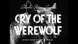 CRY OF THE WEREWOLF Movie Review (1944) Schlockmeisters #890