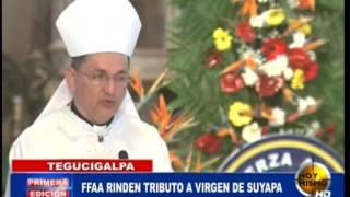 TVC Hoy Mismo Primera - Fuerzas Armadas ofrece misa en honor a la Virgen de Suyapa