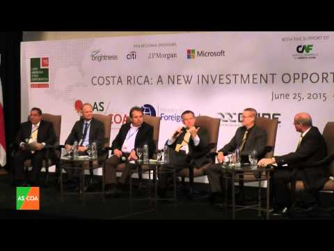 San José 2015 - Costa Rica's Challenges and Opportunities for Foreign Investors