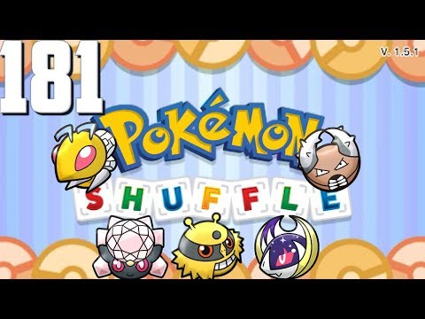 Pokemon Shuffle - Beedrill, Shiny Diancie, Electivire, Lunala & Pinsir - Episode 181