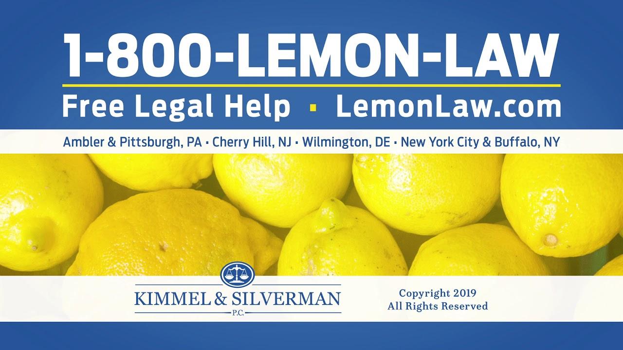 Lemon Law Nj >> Driving A Lemon Make The Call To 1 800 Lemon Law