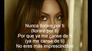 Beyoncé - Irremplazable (Letra)