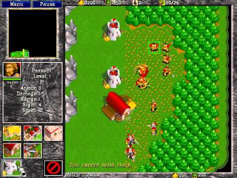 Warcraft II Battle net edition better recording(full game) - YouTube