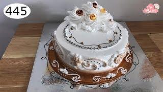 chocolate cake decorating bettercreme vanilla (445) Học Làm Bánh Kem Đơn Giản Đẹp - Mứt Nâu (445)