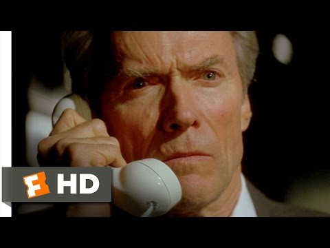 In the Line of Fire (4/8) Movie CLIP - The Irony's So Thick (1993) HD