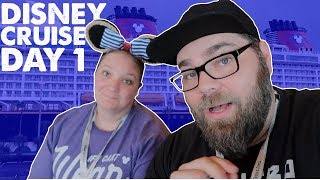 Disney Cruise Day 1 :: Ship Tour, Stateroom, Food & MORE :: Disney Dream to the Bahamas