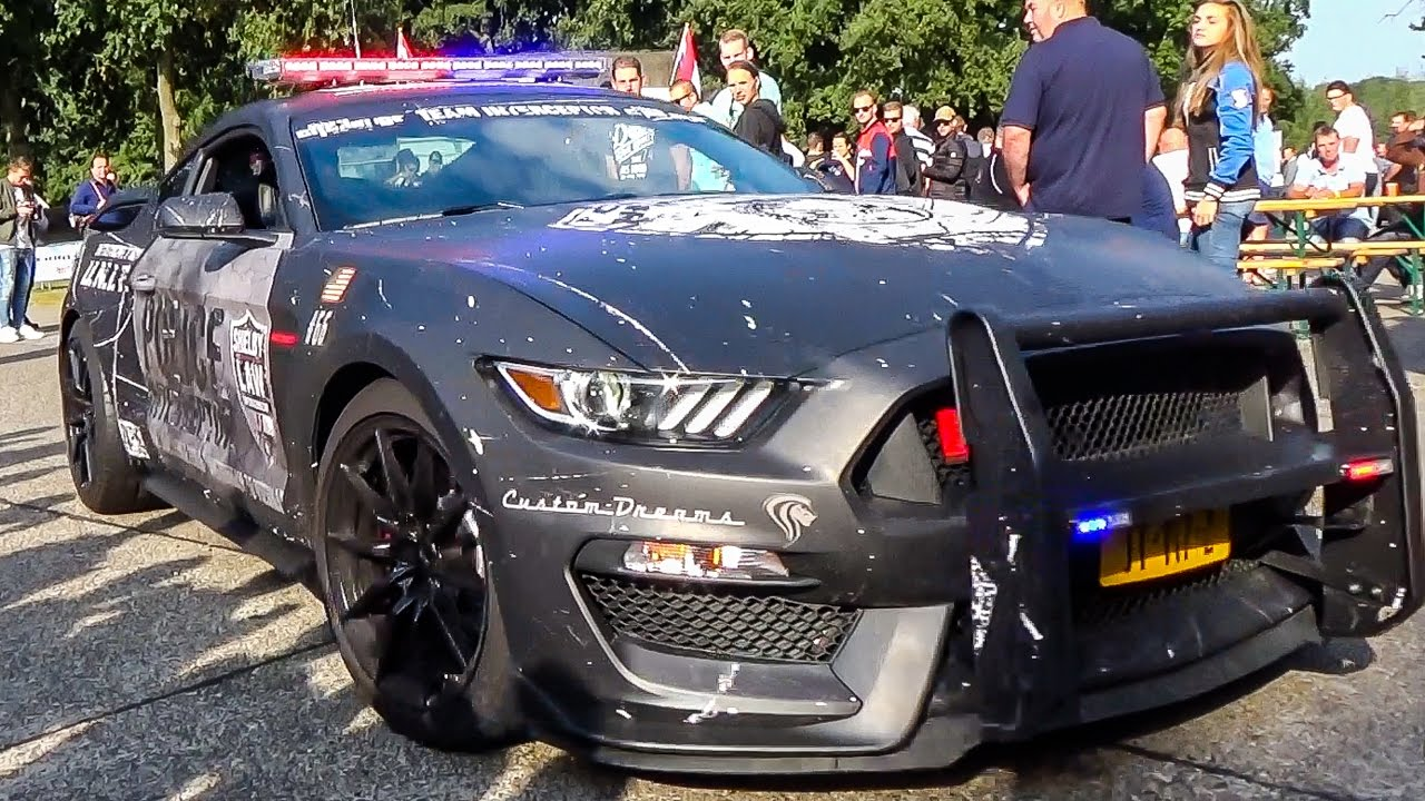 Is This The Craziest Mustang Police Car Ever Youtube