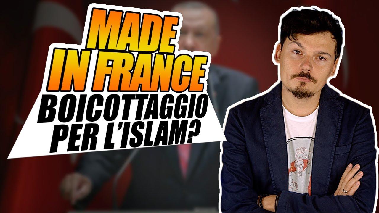 Erdogan vuole boicottare il Made in France per difendere l'Islam?