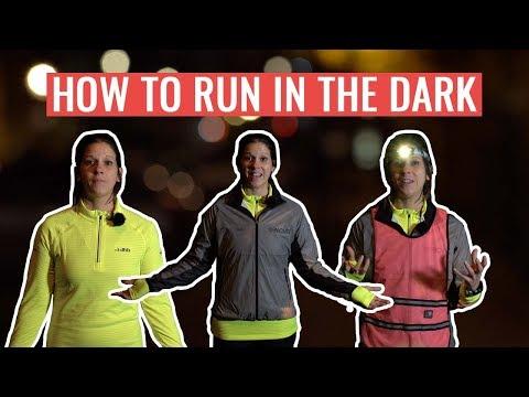 Safety Hacks for Running in the DARK | Safety Tips To Run When It's Dark