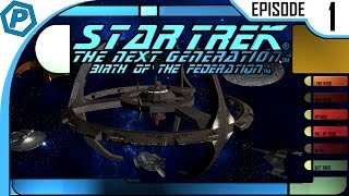 The begining   Star Trek: Birth of the Federation   #1