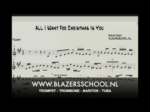 All I Want For Christmas Is You - Trumpet