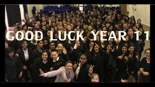 Coombe Girls' School 2018 Year 11 Leavers Video -  (Man's Not Hot)