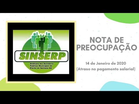 Sindicato emite nota contra atraso de salários em Riacho de Santana