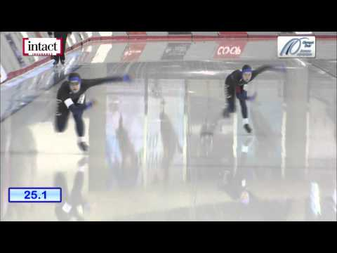Calgary Olympic Oval   Sat dec 28 2013 Ladies 500m #2 P02 Fast+Poelzer