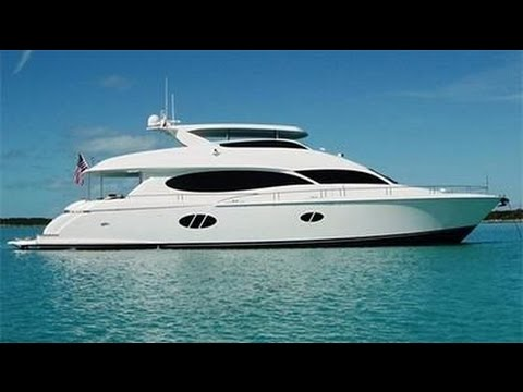 SERENITY 84' Lazzara Available for Sale