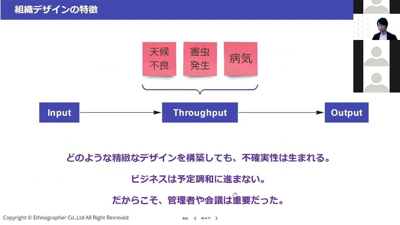 リモートワークと組織デザイン