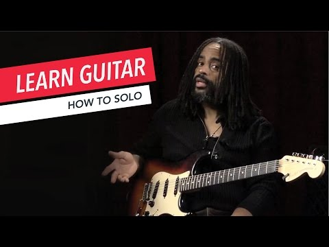 Beginner Guitar Lessons: How to Solo with the Pentatonic Scale | Guitar | Lesson | Beginner