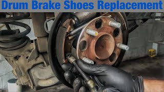 How to Replace Drum Brakes on a 2005-2011 Honda Civic