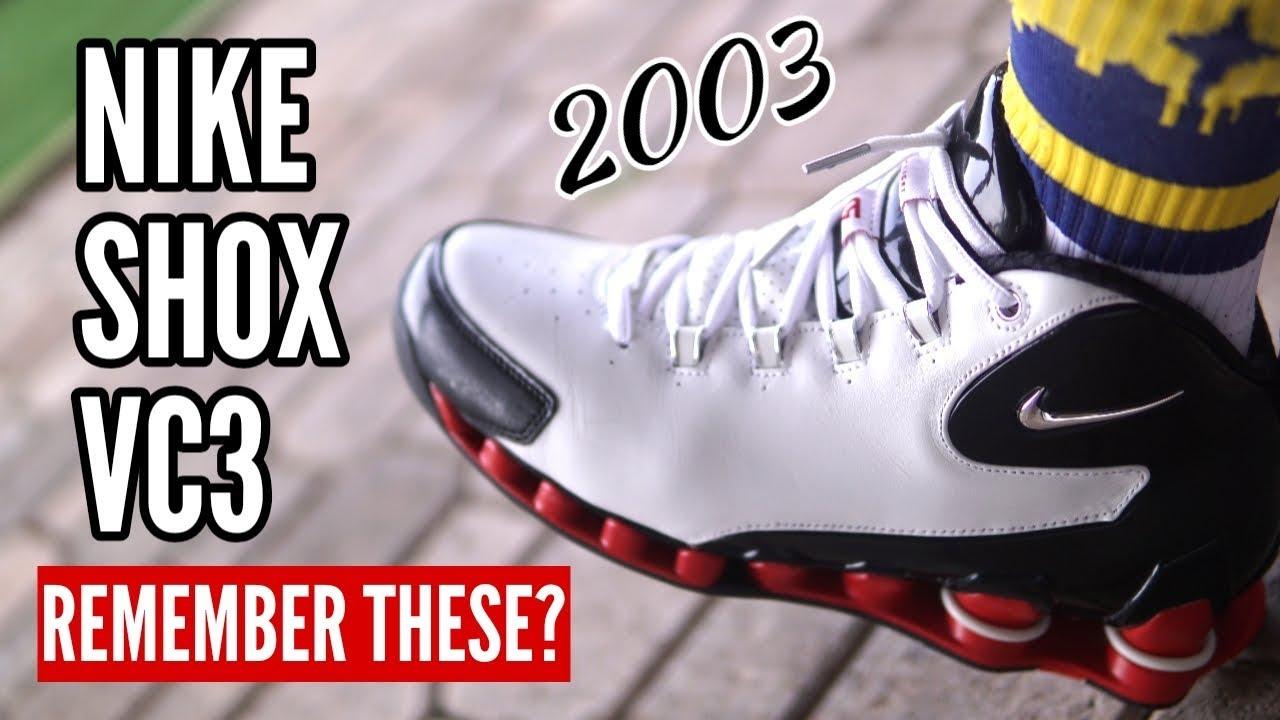 Remember These? vol. 2 - Nike Shox VC3