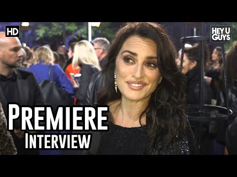 Penelope Cruz | Murder on the Orient Express World Premiere Interview