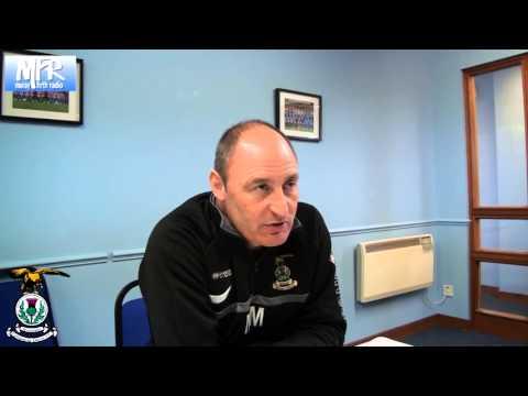 ICTFC-TV : Maurice Malpas pre-match v Hibernian on 09/11/13