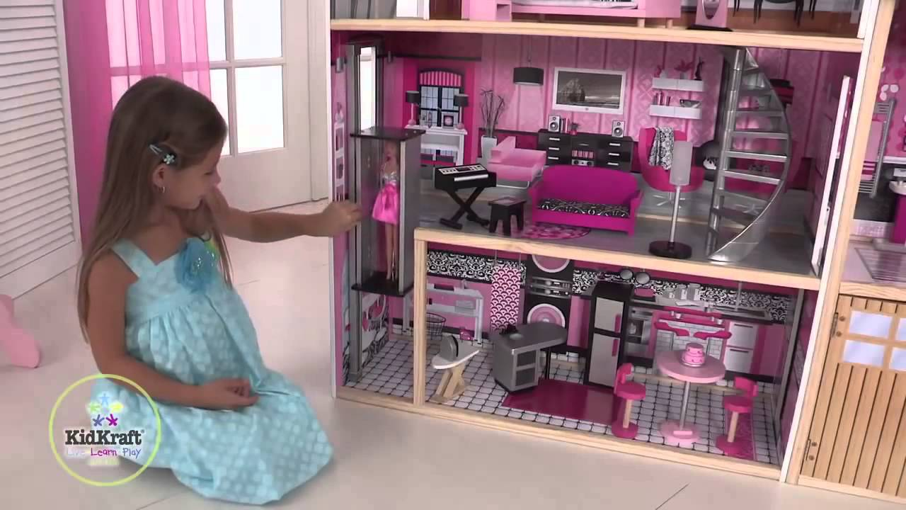 amenagement maison barbie