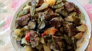 Буглама (Аджапсандали) / Вкуснейшее рагу / кухня Азербайджана