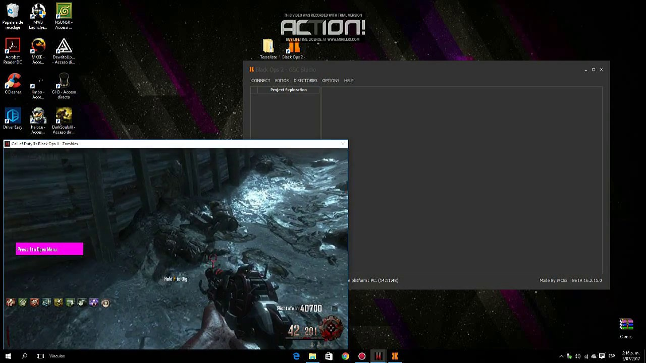 descargar mod menú para call of duty black ops 2 pc 2017