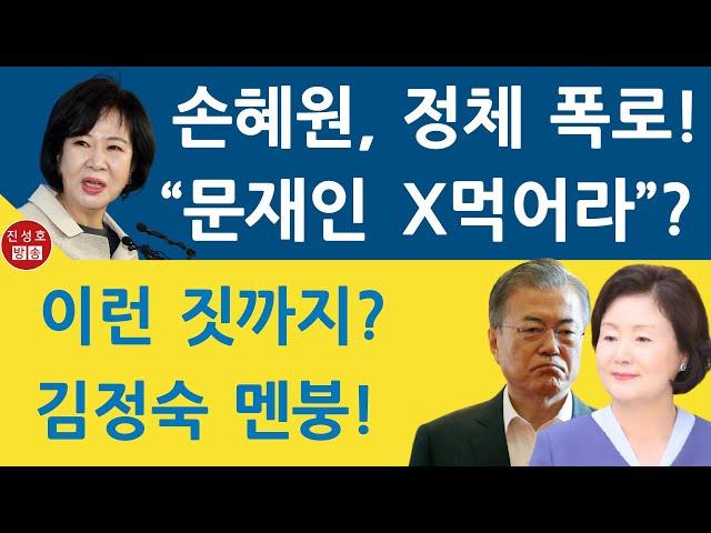 손혜원이 문재인 정권의 정체를 폭로했다! (진성호의 융단폭격)