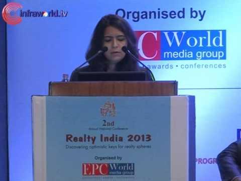 Ms. Binaifer Jehani-Realty India 2013