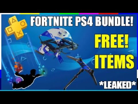 Leaked Fortnite Ps4 Bundle How To Get Free Items Ps Plus