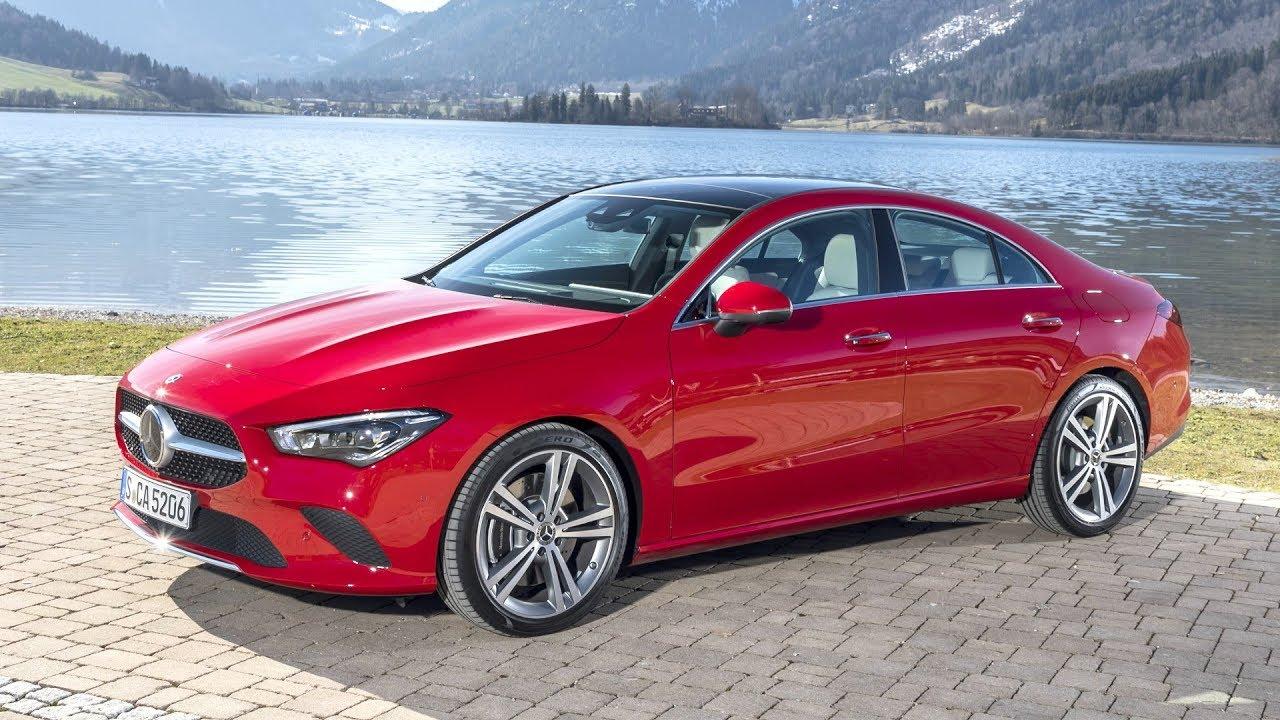 2020 Mercedes-Benz CLA 250 4MATIC Coupé - Jupiter Red ...